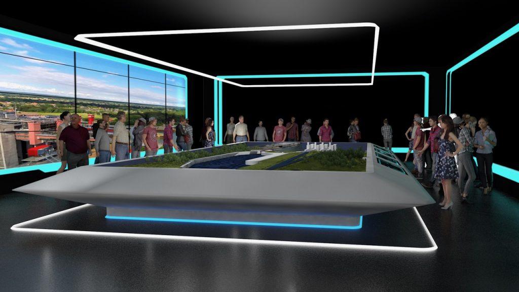 Schleusenanlage Schleuse Scharnebeck Lüneburg leisureworkgroup Ausstellung Konzeption