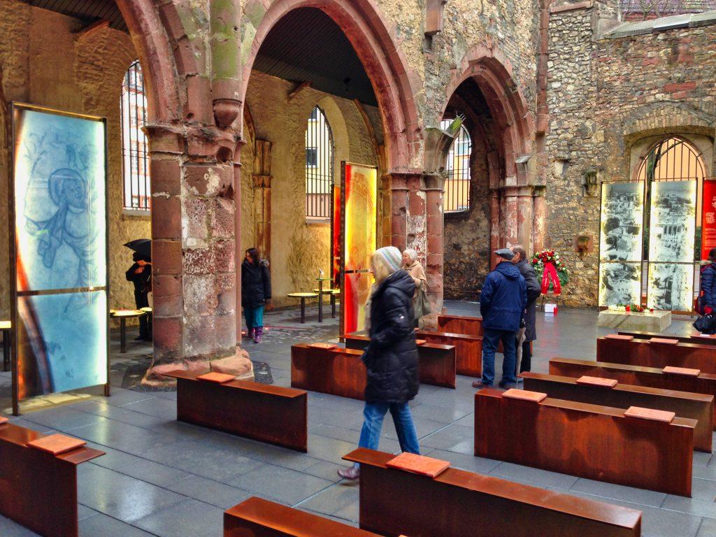 Gedächtniskirche Mainz Leisureworkgroup Ausstellung
