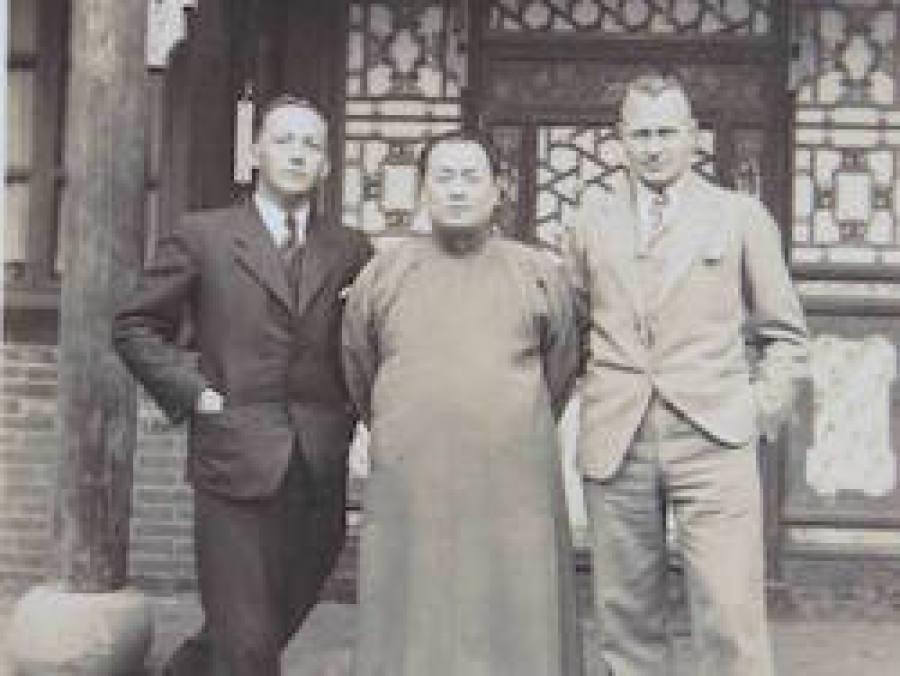 John rabe Oskar Schindler Chinas BallinSTadt Leisureworkgroup Ausstellung