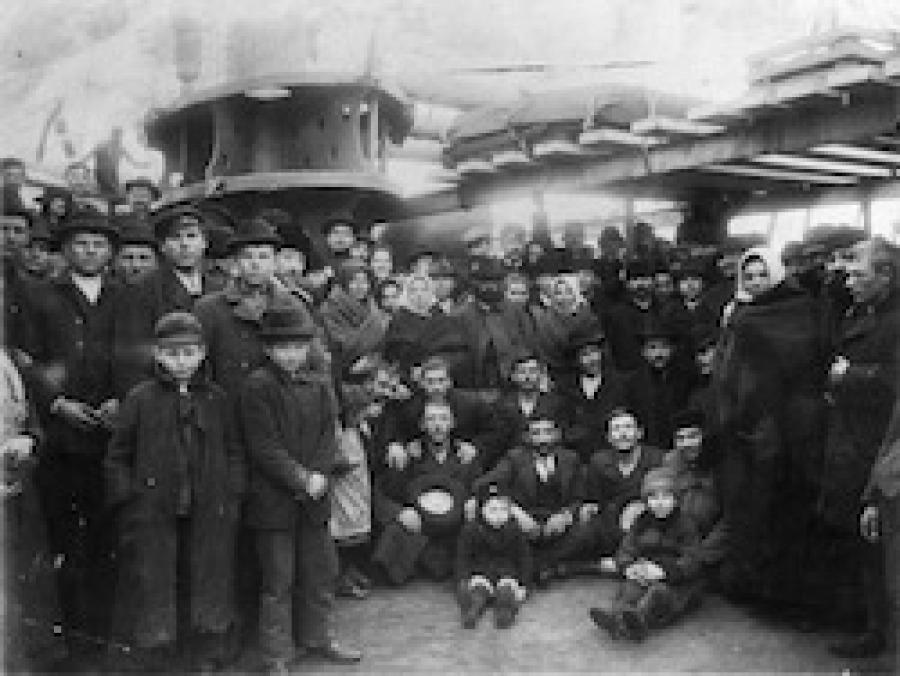 Auswanderung Geschichte weltweit Sonderausstellung Szenografie BallinStadt Leisureworkgroup