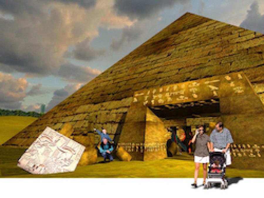 Reich der Pharaonen Szenografie BallinStadt Leisureworkgroup