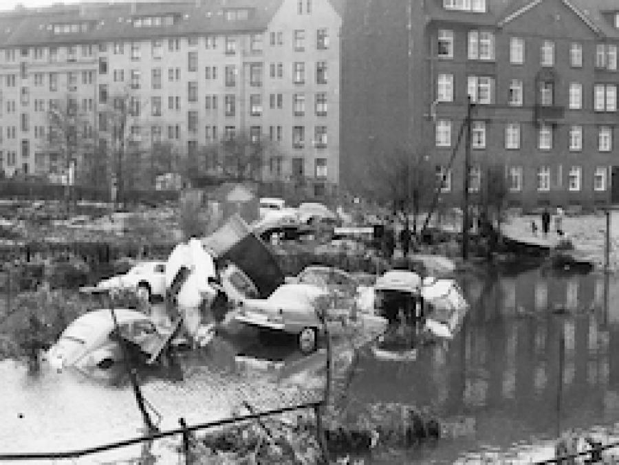 Sturmflut 1962 BallinStadt Sonderausstellung Szenografie BallinStadt Leisureworkgroup