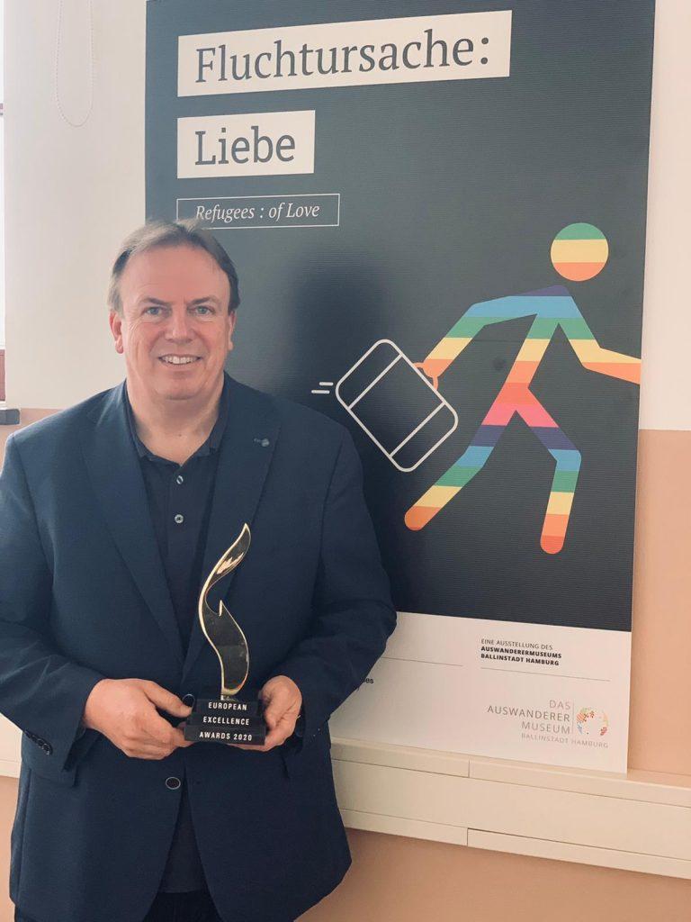 european excellence awars leisureworkgroup BallinStadt Volker Reimers